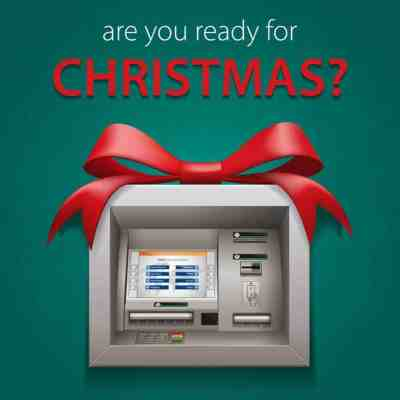Set aside money every month in Christmas account