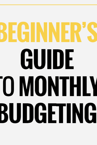 Family Monthly Budgeting: Get Out of Debt Strategy