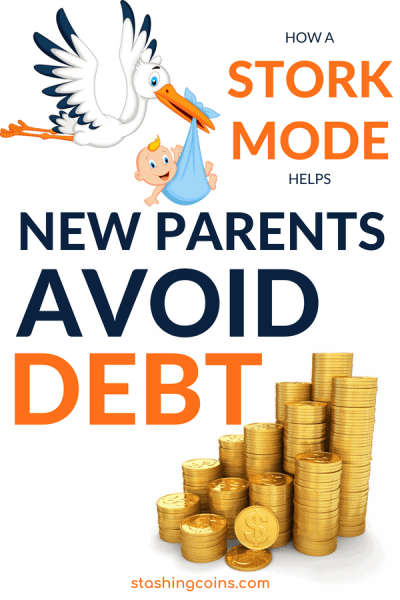 The stork mode helps new parents avoid taking up more debt.
