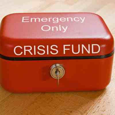 An emergency fund helps avoid taking up new debt