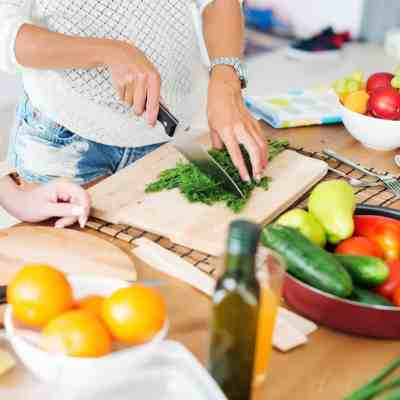 Preparing food at home is cost effective