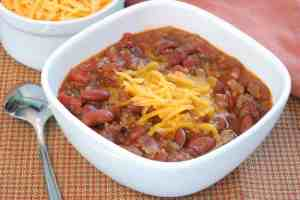 Easy quick chilli for busy week nights