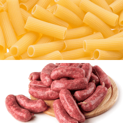 Italian sausage casserole dish ingredients