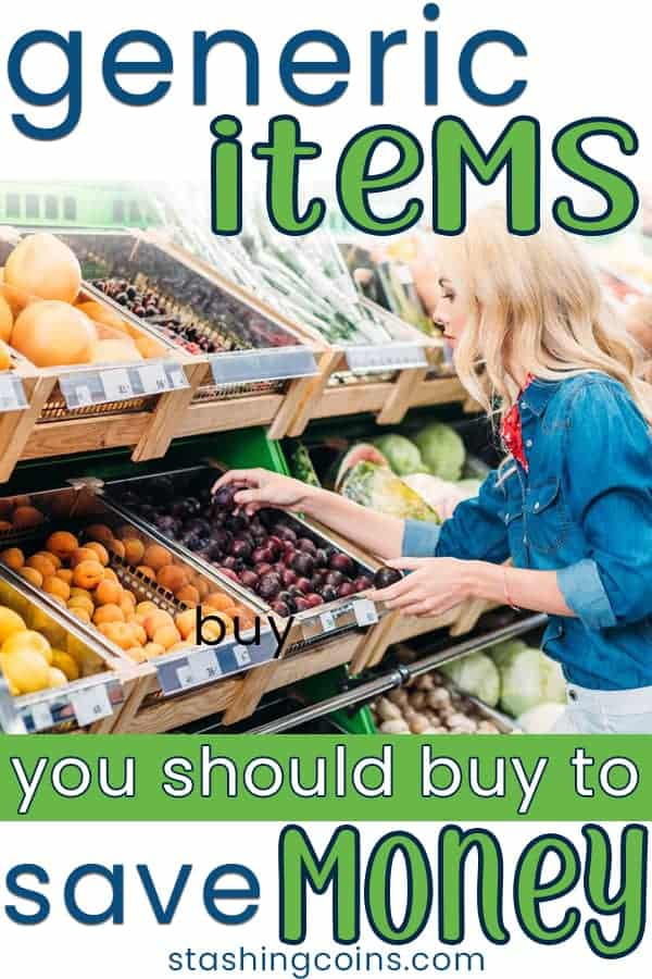 Grocery bill takes a huge chunk from the household budget. Shop for these generic groceries to save money.