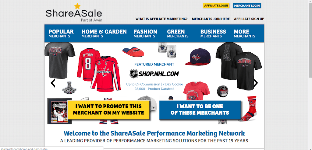 Shareasale Affilate program Best Affiliate Programs for 2020