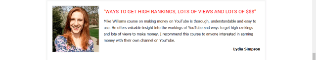 YouTube Secrets Review! Is it a Scam? Fake testimonial