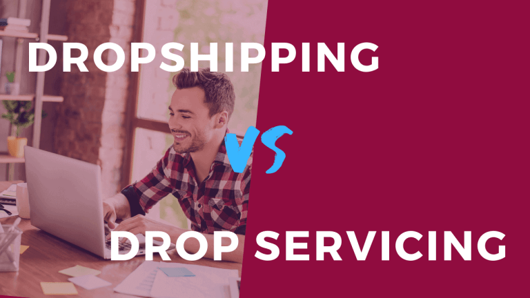 Dropservicing vs dropshinpping