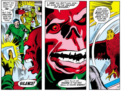 Red Skull with the Cosmic Cube 2