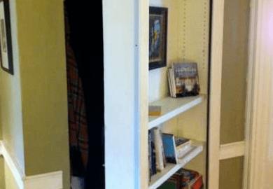 How To Build A Secret Bookcase Door Stashvault
