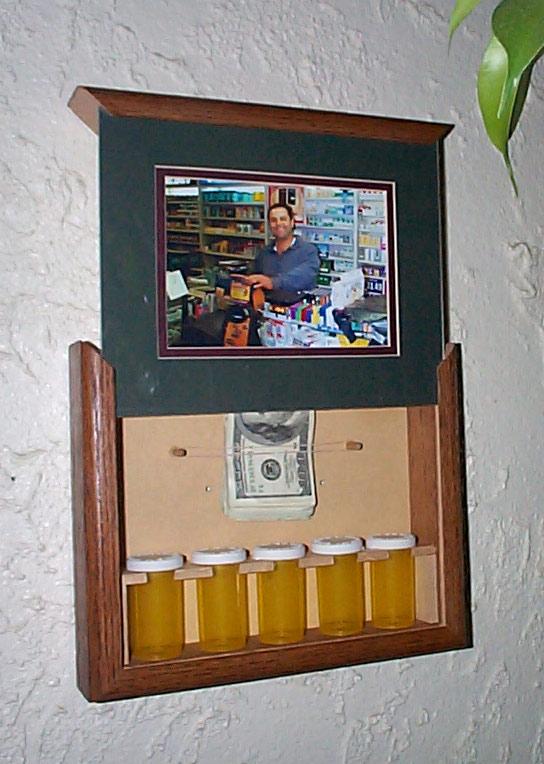 sofa gun safe cheap argos picture frame with secret stash compartment | stashvault