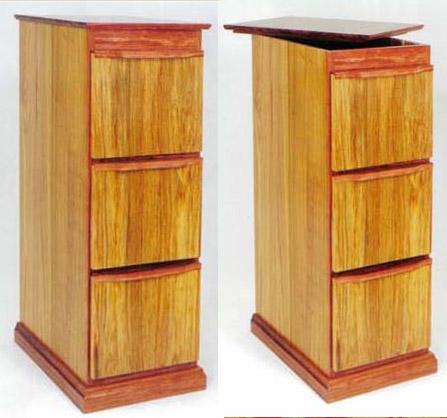File Cabinet with Secret Compartment  StashVault