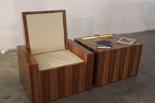 Table Converts to Chair  StashVault