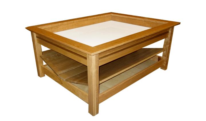 Secret Compartment in Coffee Table  StashVault