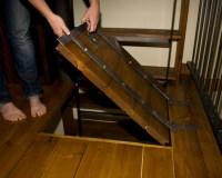 Secret Room Under Trap Door