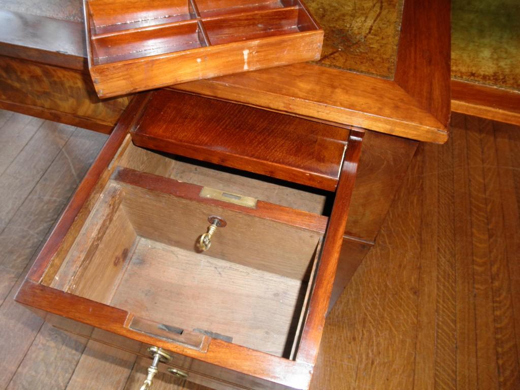Secret Lockable Desk Compartment StashVault