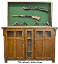 Hidden Compartment Furniture - Gun Rack | StashVault