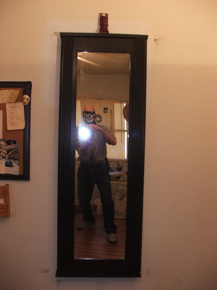 Secret Gun Compartment Behind Mirror StashVault
