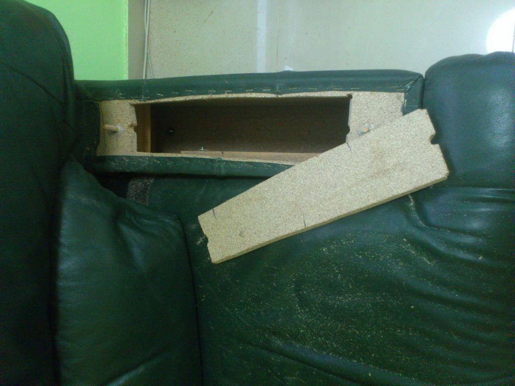 Secret Stash Compartment in Chair Arm  StashVault