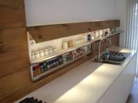 Hidden Storage Cabinet Behind Counter | StashVault