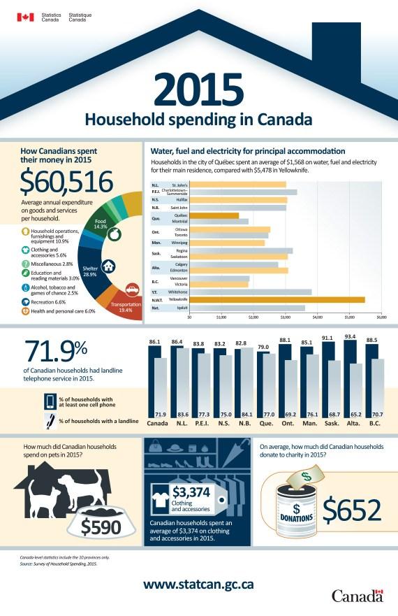 Spending Infographic