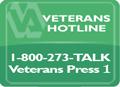 Veterans Suicide Prevention Lifeline 1-800-273-TALK (8255)