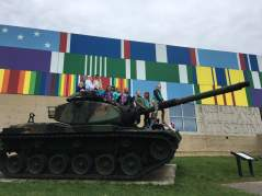 Junior Girl Scouts tour the PA Military Museum