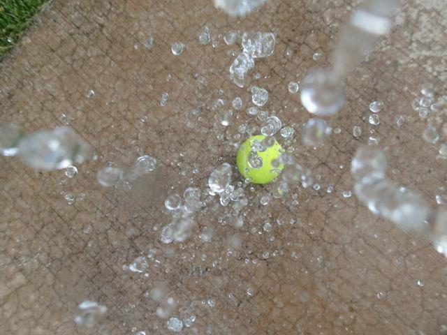 """""""Dropping Water,: Gabby (Troop 40421)"""