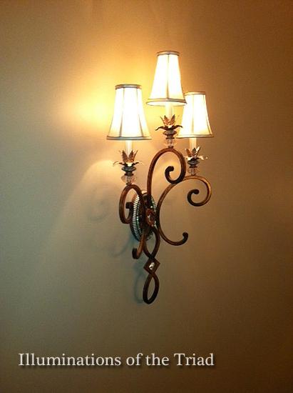 triad greensboro lighting store