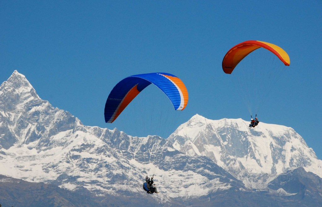 Paragliding at Ladakh