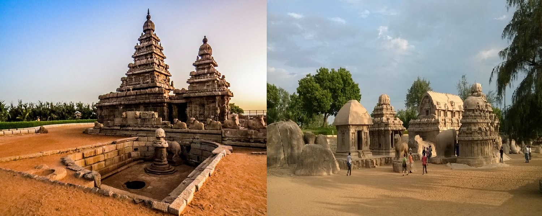 Shore Temple, PanchRathas, Mahabalipuram