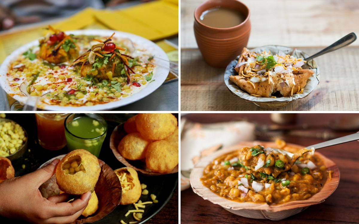 Delhi street food in Golden Triangle Tour