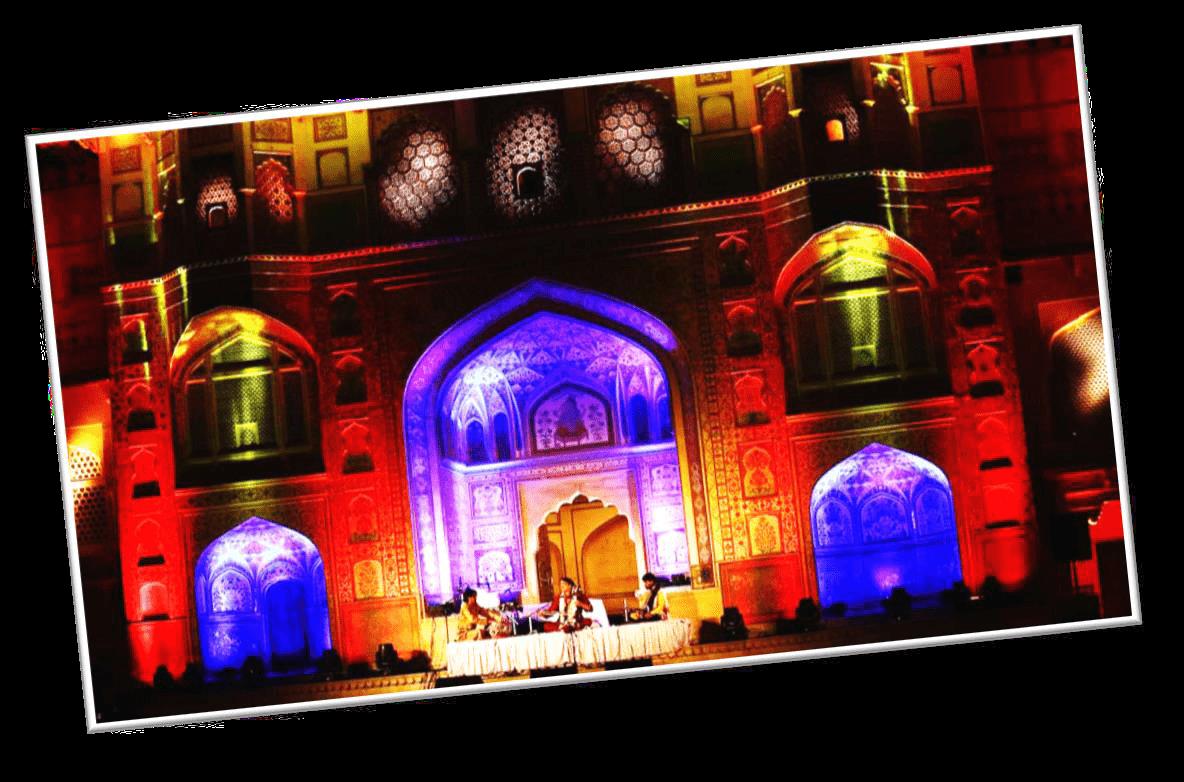 Sound & Light Show at Amer Fort, Jaipur