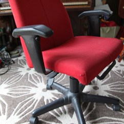 Red Desk Chair Ikea Glass Table And Cream Chairs New Stately Kitsch Our Old