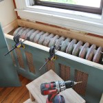 Our Diy Kitchen Window Seat Radiator Cover Stately Kitsch