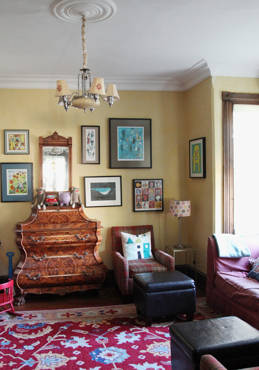 kitschy living room round sofa set update a little sense of defeat stately kitsch our