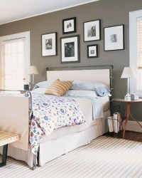 Master Bedroom: New Gray Wall Color & White Trim | Stately ...