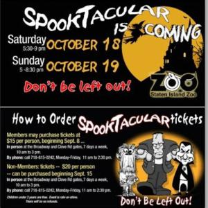 Staten Island Zoo Halloween Spooktacular 2014