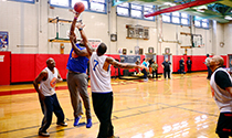 Senior Games: Basketball