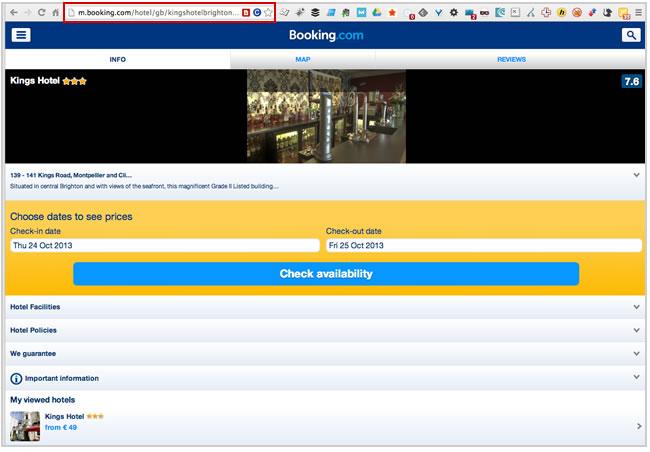 Mobile URLs non-Redirected to Desktop