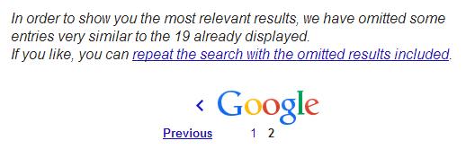 Duplicate Google
