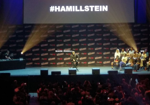 MARK HAMILL HUGGED ME (and other adventures at NYCC)
