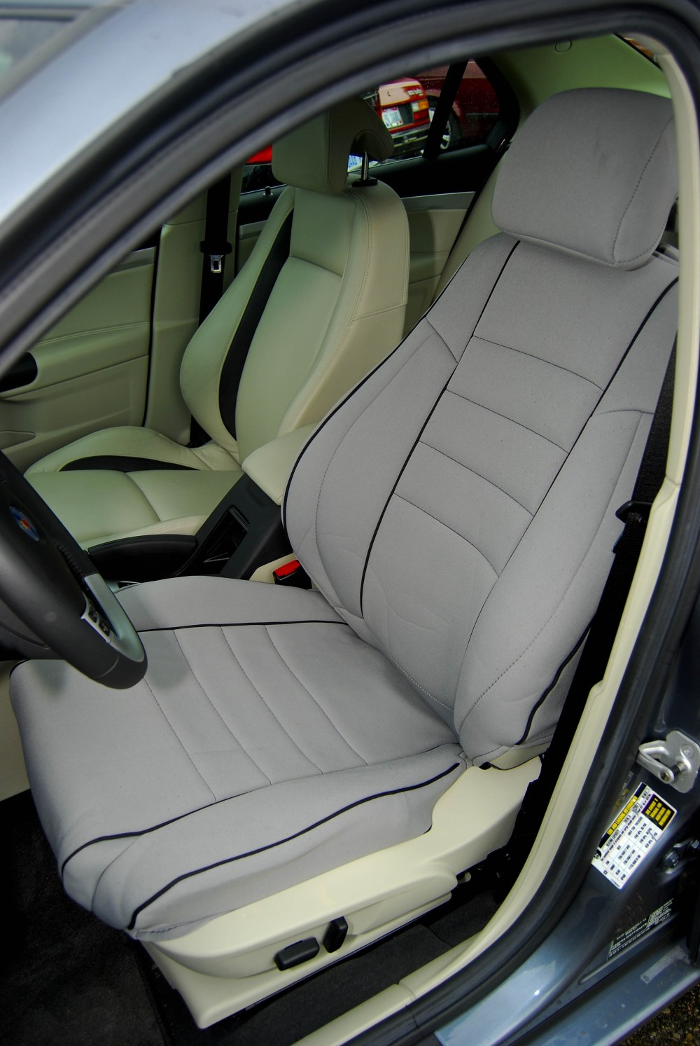 medium resolution of  2007 9 3ss 21 grey driver s seat example