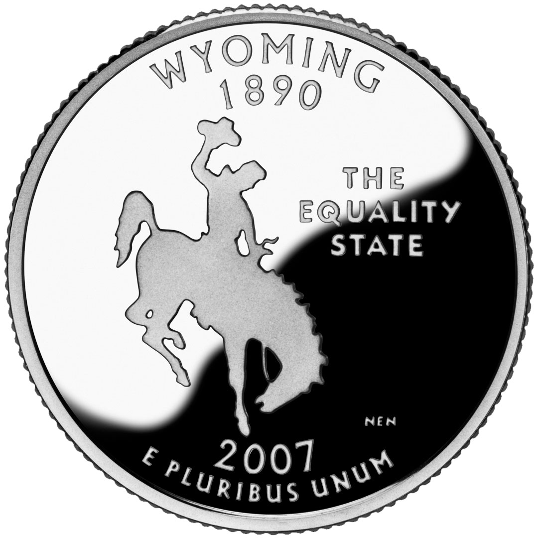 Wyomings Registered Trademark  Bucking Horse and Rider