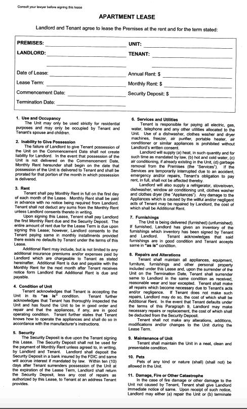 NY Abstract Company Forms  New York Title Insurance