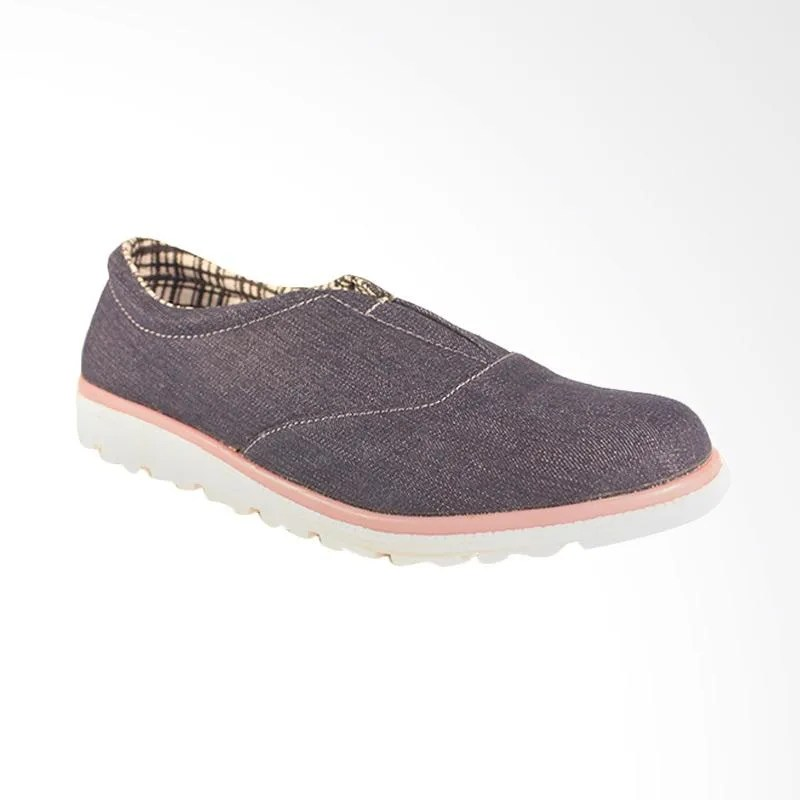 Navy Slip On Shoes Womens