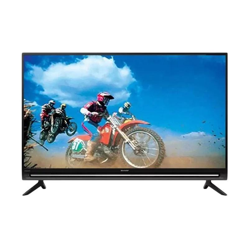 Jual SHARP LC32SA4500I Smart TV LED - Hitam [32 Inch/ HD READY] Hitam  Online Mei 2021   Blibli