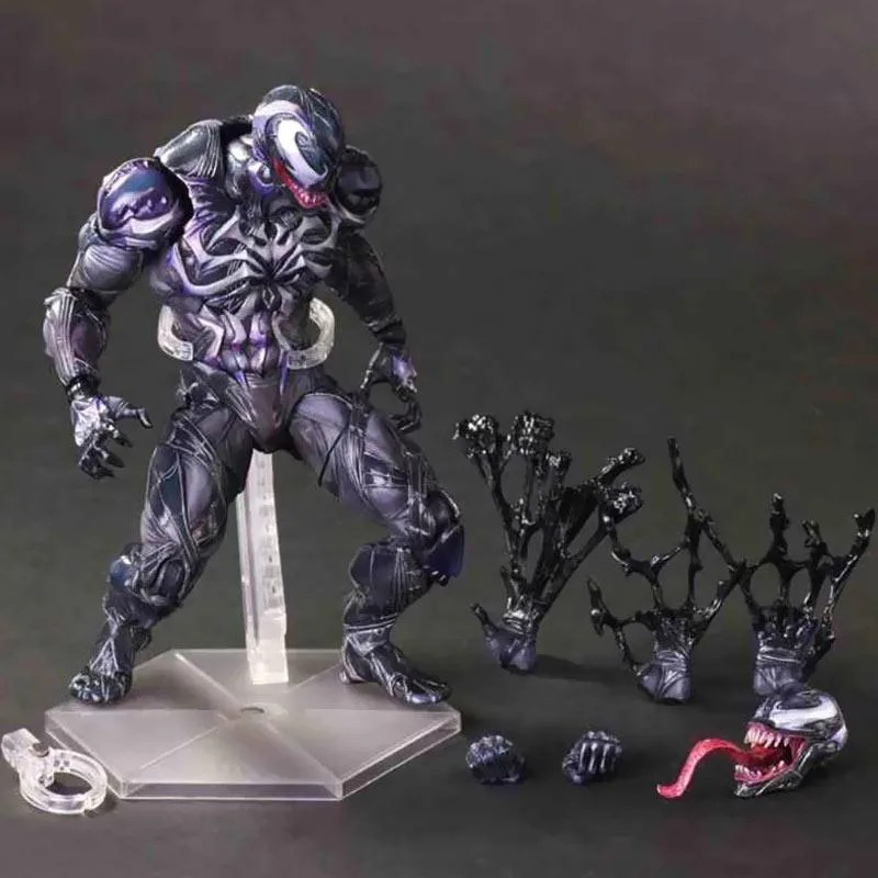 Jual Play Arts Play Arts Kai Marvel Universe Variant Venom Action Figure Terbaru Juni 2021 Blibli