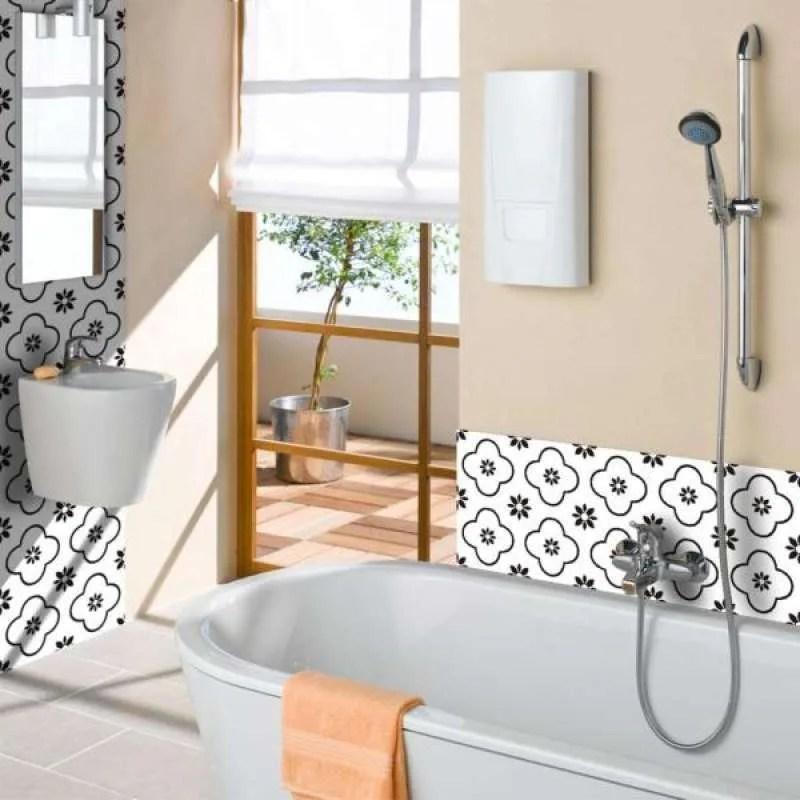 Jual 5pcs Mosaic Self Adhesive Bathroom Kitchen Wall Stair Tile Sticker 20x20cm Online November 2020 Blibli Com