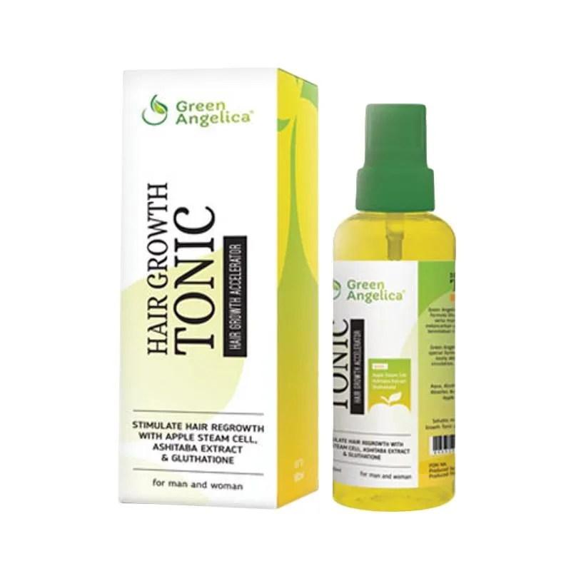 Jual Green Angelica Hair Tonic Online Harga Kualitas Terjamin Blibli Com