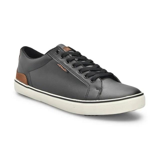 Airwalk Lex Sepatu Sneaker Pria - Black